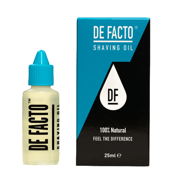 DE FACTO Shaving Oil 25 ml (Formerly Total Shaving Solution)