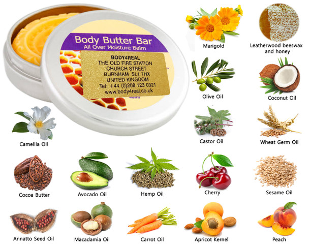 Body Butter Balm Bar