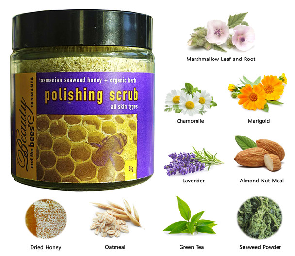 Seaweed, Honey & Herb Polishing Scrub