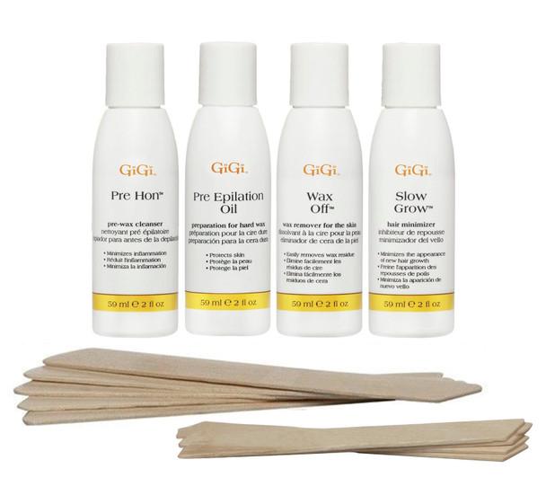 Gigi Brazilian Waxing Accessory Kit