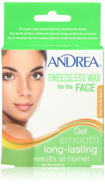 Andrea Tweezeless Wax For The Face
