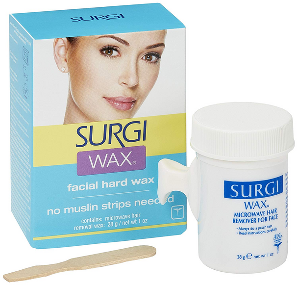 Surgi Facial Hair Removal Wax Unwanted Face Hair Remover Removal