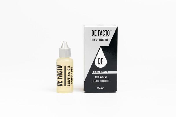 DE FACTO Sensitive Shaving Oil 25 ml