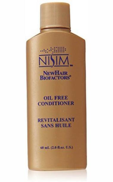 Nisim Oil Free Conditioner Oily Greasy Fine Hair NO Silicone Travel Size