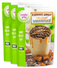 Salted Caramel Brownie in a Cup Single Serve - 3 pack