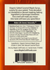 Salted Caramel Organic Vermont Maple Craft Syrup