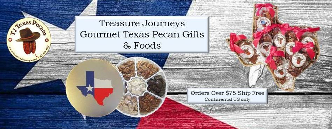 Treasure Journeys TJ Texas Pecans