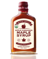 Apple Cinnamon Organic Vermont Maple Craft Syrup