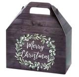 Christmas Wreath Gable Box