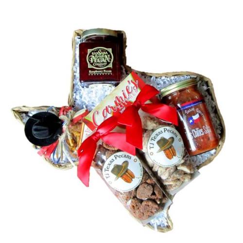 Taste of Texas Delight Gift Basket