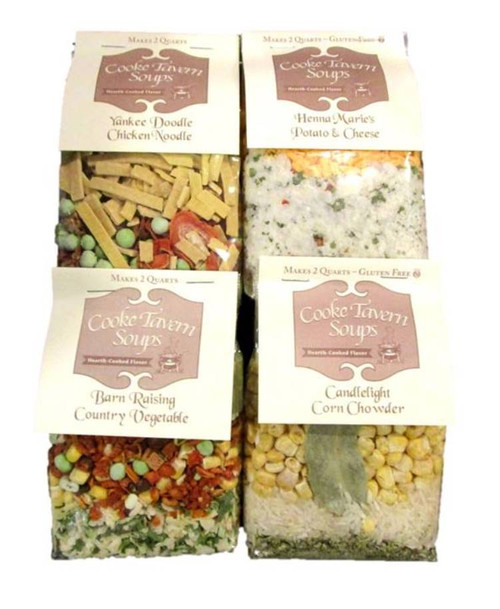 Cooke Tavern Variety 4 Pack Soup Mixes