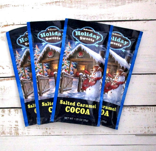 Salted Caramel Chocolate Hot Cocoa Drink Mix Packet