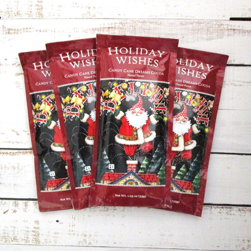 Candy Cane Dreams Peppermint Hot Cocoa Drink Mix - 4 Pack