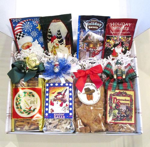 Christmas Holiday Themed Snack & Cocoa Gift Box