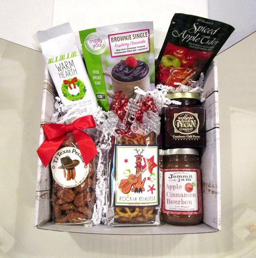 Home Memories Christmas Holiday Gift Basket Box