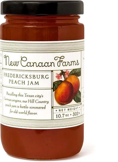 New Canaan Farms Fredericksburg Peach Jam Jar