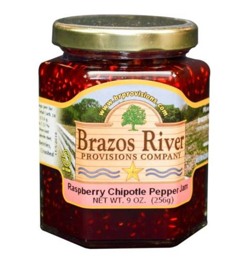 Brazos River Raspberry Chipotle Jam - 9 oz jar