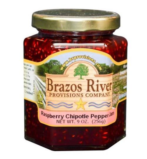 Brazos River Raspberry Chipotle Jam - 9 oz jar