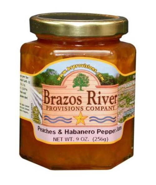 Peaches and Habanero Pepper Jam - Brazos River