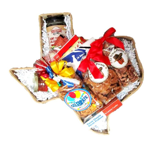 Celebrate Texas Housewarming Gift Basket