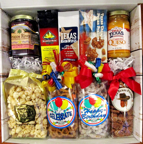 Celebrate Your Birthday Snack Food Gift Basket
