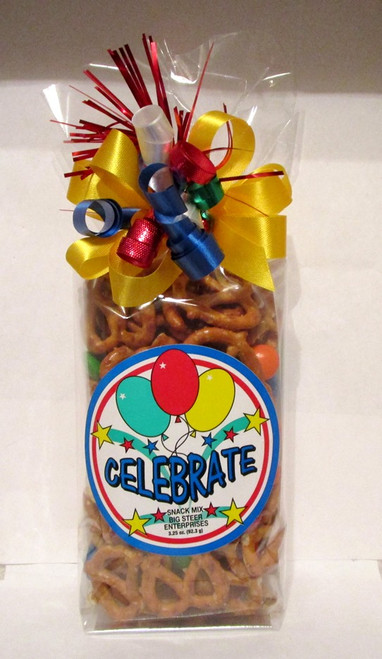 Celebration Themed Gift Bag w Snacks