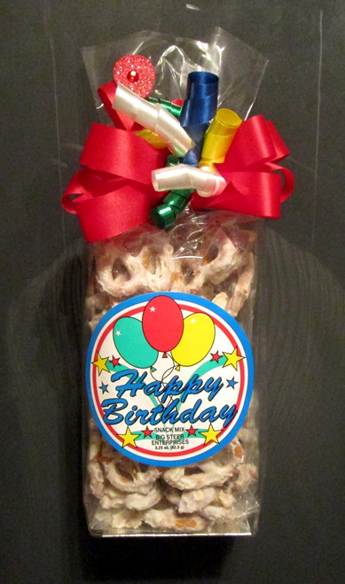 Happy Birthday Themed Snack Gift Bag