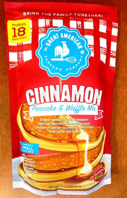 Gourmet Cinnamon Pancake n Waffle Mix Great American Pancake