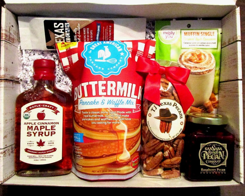 Your Way Breakfast Comfort Food Gift Basket Box