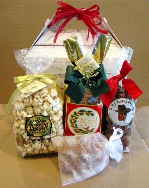 DIY Christmas Holiday Snack Food Gift Box