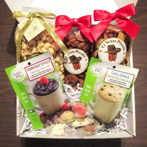 Savory, Salty n Sweet Snack Time Gift Basket Box