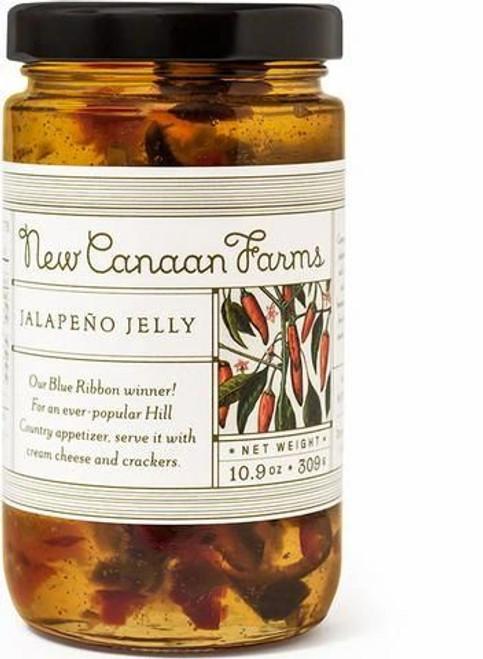 New Canaan Farms Jalapeno Jelly  - 10.9 oz jar