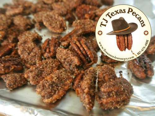TJ Texas Pecans Sweet n Spicy Flavor