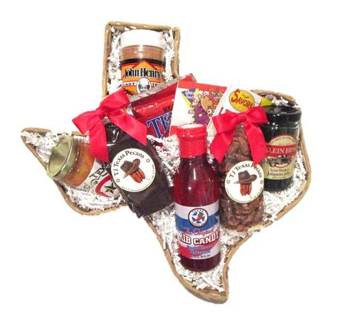 Taste of Texas Ranch Hand Gift Basket