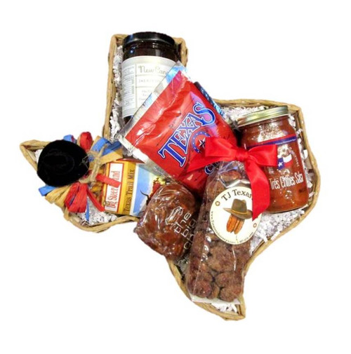 Taste of Texas Snack Food in Texas Gift Basket