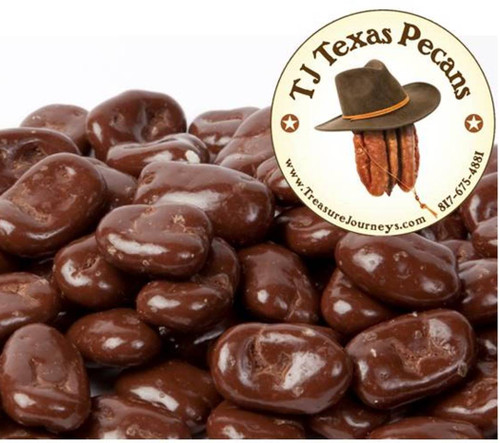 TJ Texas Pecans Milk Chocolate Cover Pecans