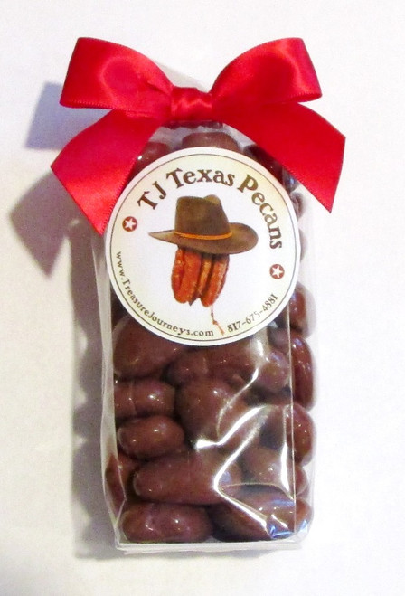TJ Texas Pecans Milk Chocolate Candied Pecan Gift Bag