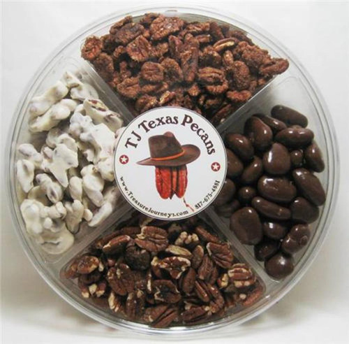 TJ Texas Pecans Sweet N Spicy Gift Pack