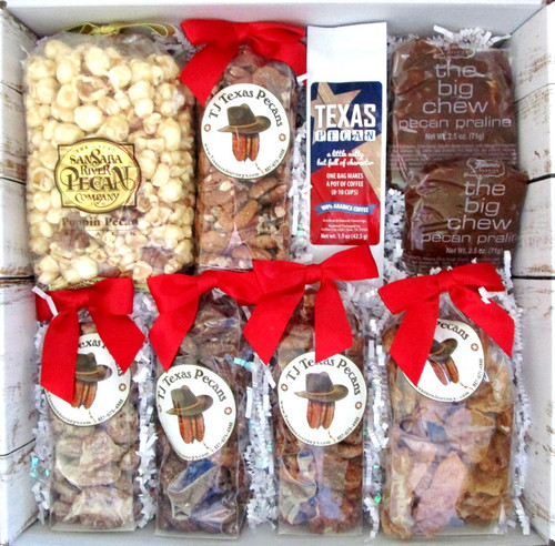 TJ Texas Pecan Lovers Gift Box