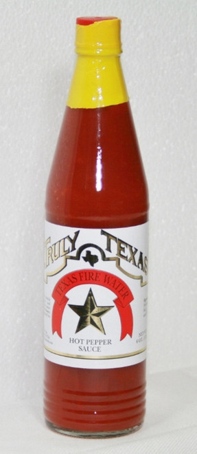 Truly Texas Fire Water Hot Pepper Sauce