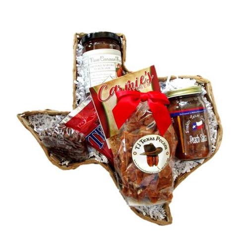Lil Texas Taste of Texas Gift Basket