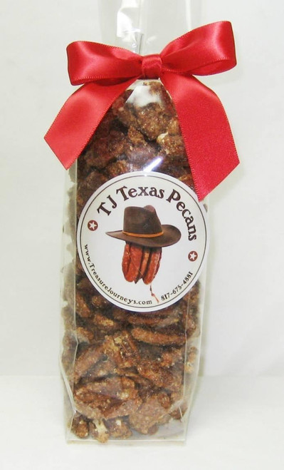 TJ Texas pecans Roasted n Salted Gift Bag