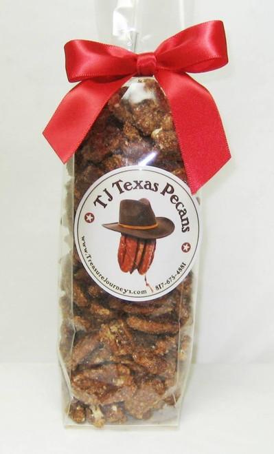 TJ Texas pecans Roasted n Salted Gift Bag