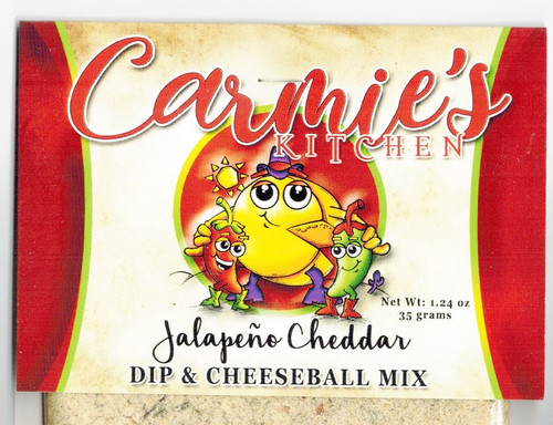Jalapeno Cheddar Dip Mix - Carmie's Kitchen - Formerly Pepper Springs