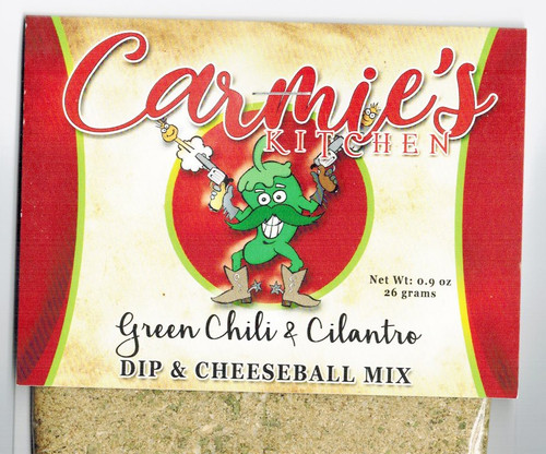 Green Chile & Cilantro Dip Mix - Carmies Kitchen - Formerly Pepper Springs