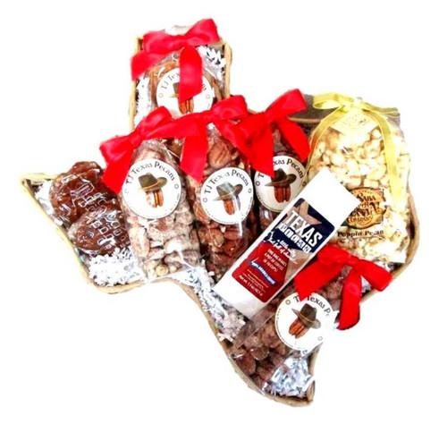 TJ Texas Pecan Lovers Delight Gift Basket