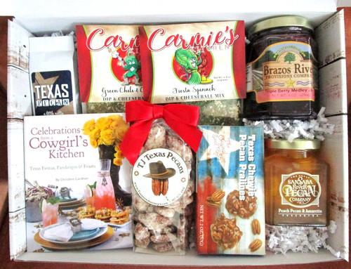 Southern Charm Hospitality Texas Gift Basket Box