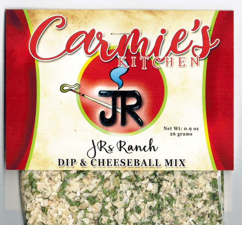 JR's Ranch Dip Mix - Carmies Kitchen - Pepper Springs