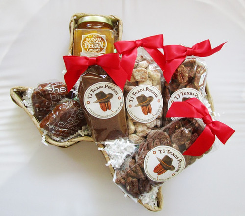 Texas Pecan Love Gift Basket