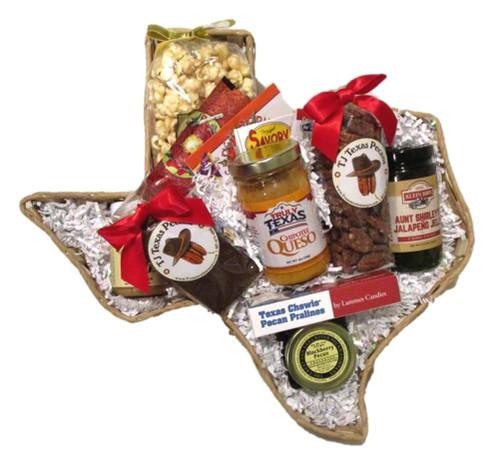 Taste of Texas Roundup Gift Basket